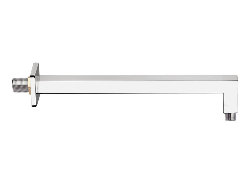 Wall-mounted brass shower arm BD0-04 by Rubinetterie Mariani