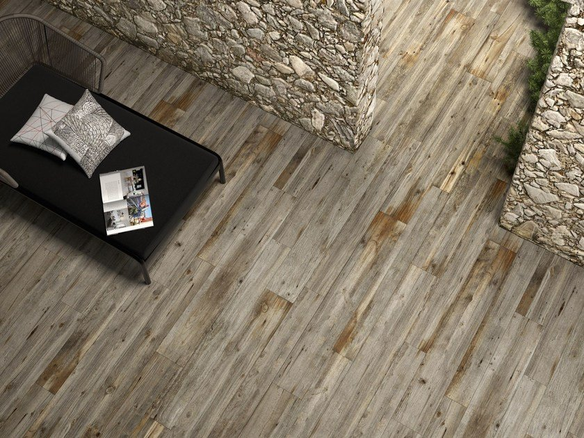 Porcelain stoneware flooring with wood effect HIGH TECH WOODS | Quercia tropicale by ARIOSTEA