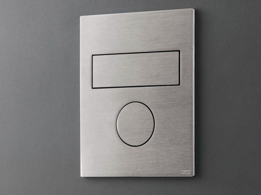 Flush plate / toilet-jet handspray PLA 11 by Ceadesign