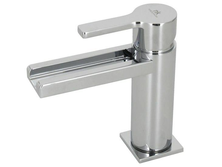LED chrome-plated countertop washbasin tap URBAN | LED washbasin mixer by Noken