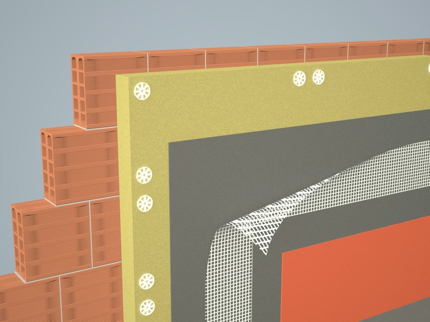 Mesh and reinforcement for plaster and skimming Alternatives to traditional insulation by Gavazzi