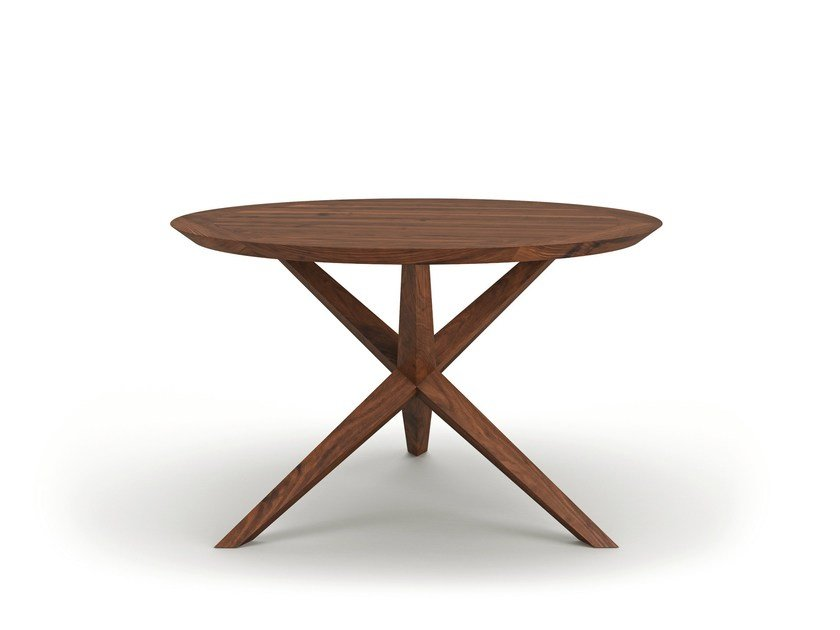 Round wooden dining table VERA by Belfakto