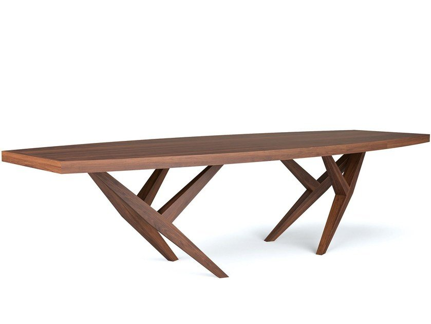 Wooden dining table YORK by Belfakto