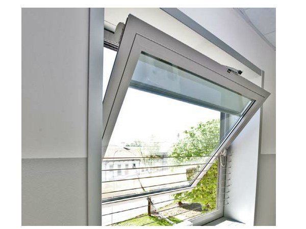 Pivot window WICLINE EVO | Horizontally pivoted window by WICONA