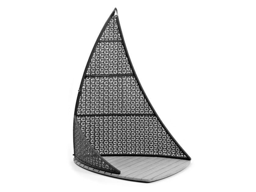 Doccia esterna a vela con rivestimento in fibra sintetica ALTEA | Doccia esterna by Varaschin