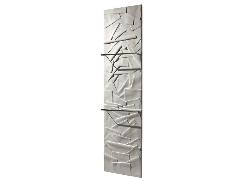 Vertical Olycale® panel radiator EDO by Cinier