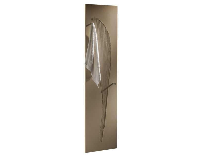 Vertical Olycale® towel warmer ORIENTAL BAIN by Cinier