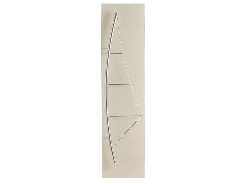 Vertical Olycale® towel warmer VOILE by Cinier