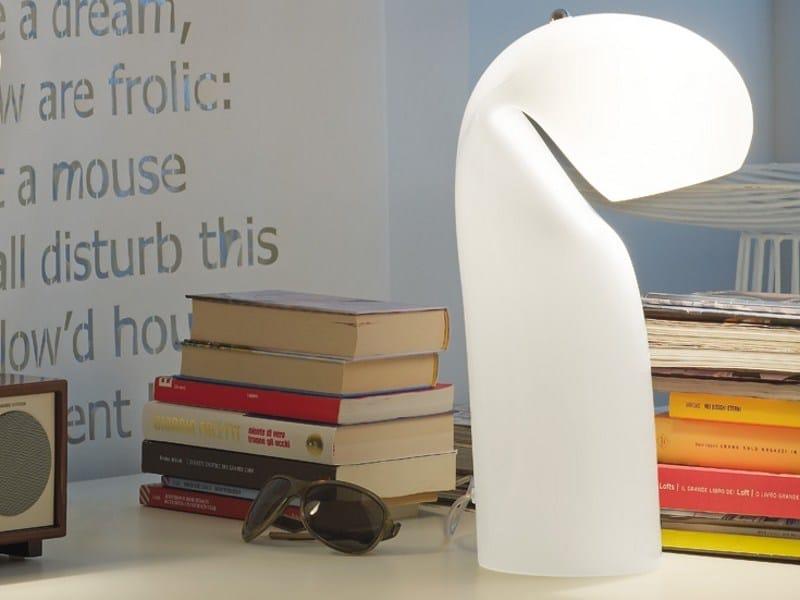 Glass table lamp BISSA LT by Vetreria Vistosi