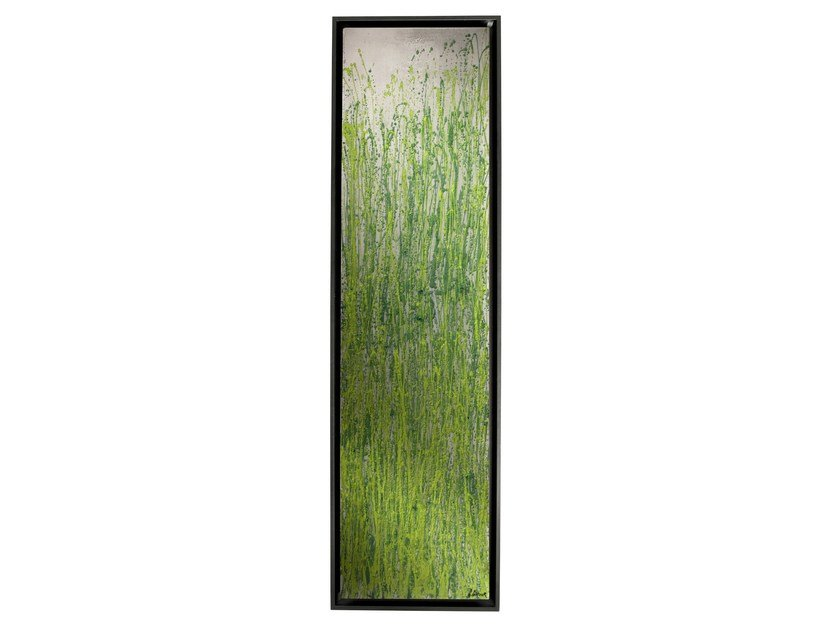 Vertical Olycale® panel radiator GREENOR SPRING by Cinier