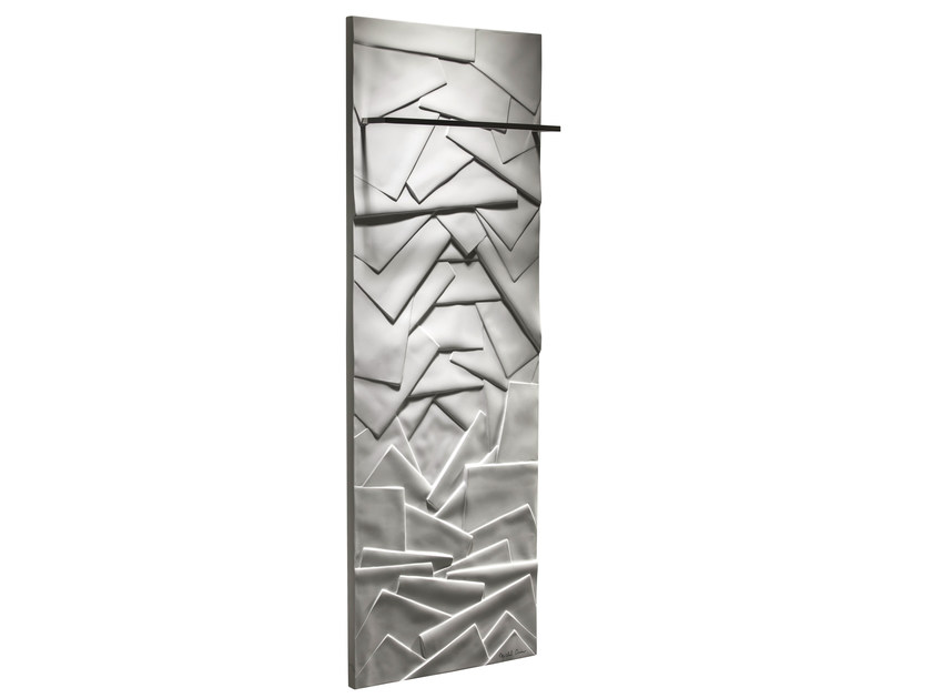 Vertical Olycale® towel warmer EDO BAIN by Cinier