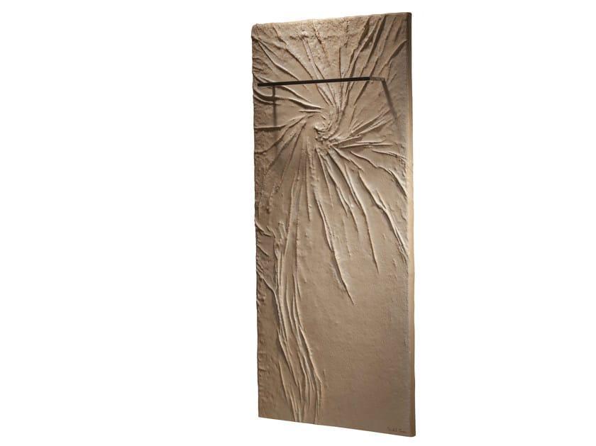 Vertical Olycale® towel warmer COSMOS BAIN by Cinier