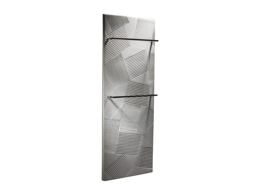 Vertical Olycale® towel warmer JEU D'OMBRES BAIN by Cinier