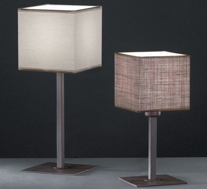Fabric table lamp KENIA S by luxcambra