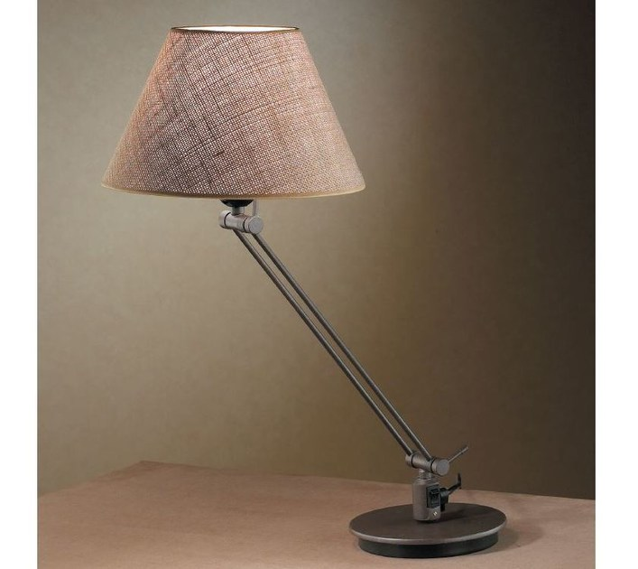 With swing arm table lamp AGRIPINA S by luxcambra