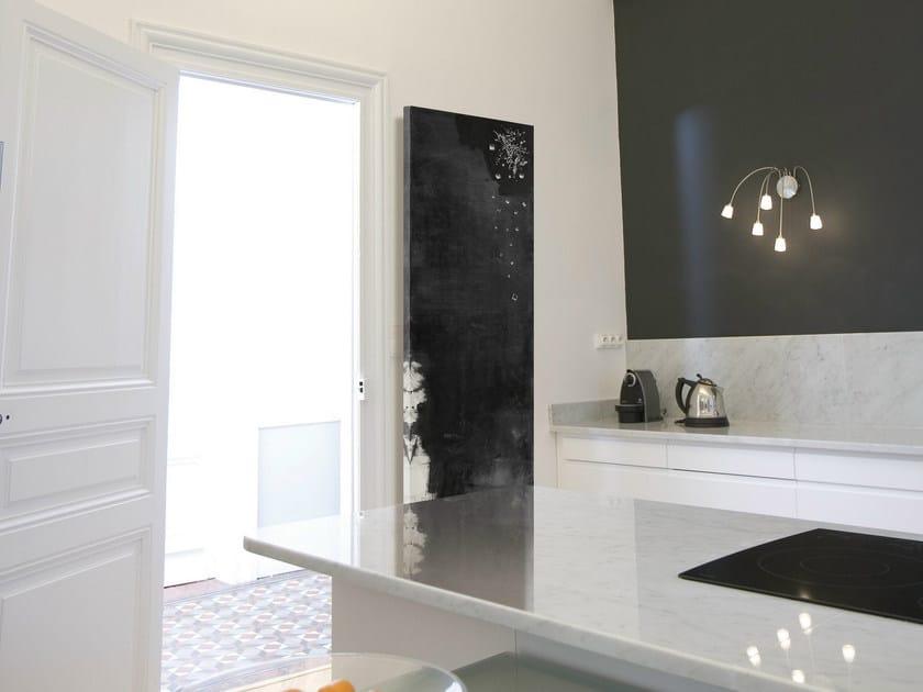Wall-mounted Olycale® panel radiator NUIT ÉTOILÉE by Cinier