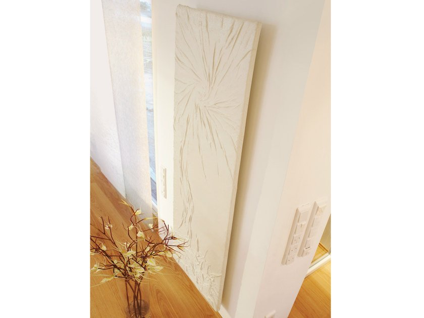Wall-mounted Olycale® panel radiator COSMOS by Cinier