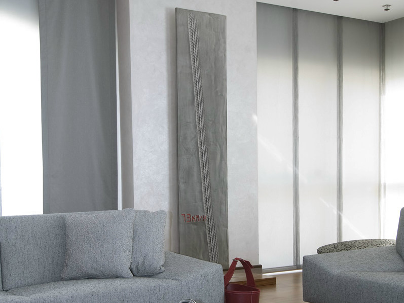 Wall-mounted Olycale® panel radiator 73KM/H by Cinier