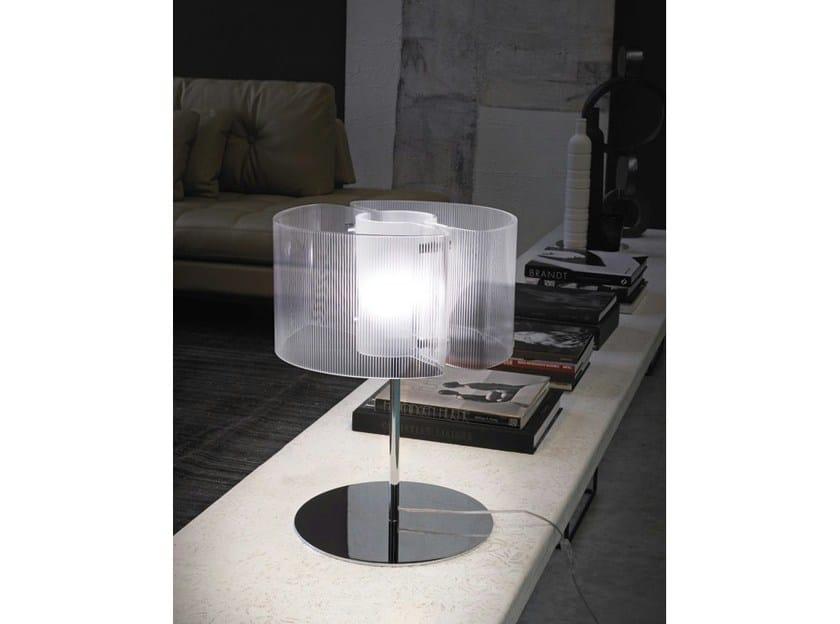 Crystal table lamp CHIMERA 09 by Vetreria Vistosi