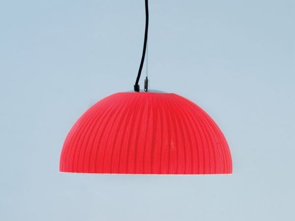 Fabric pendant lamp SIOUX C by luxcambra