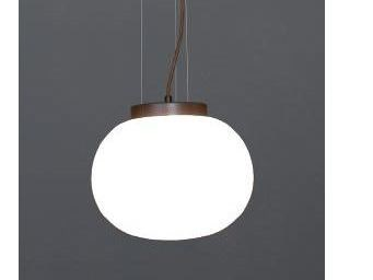 Opal glass pendant lamp MOON 1 C by luxcambra