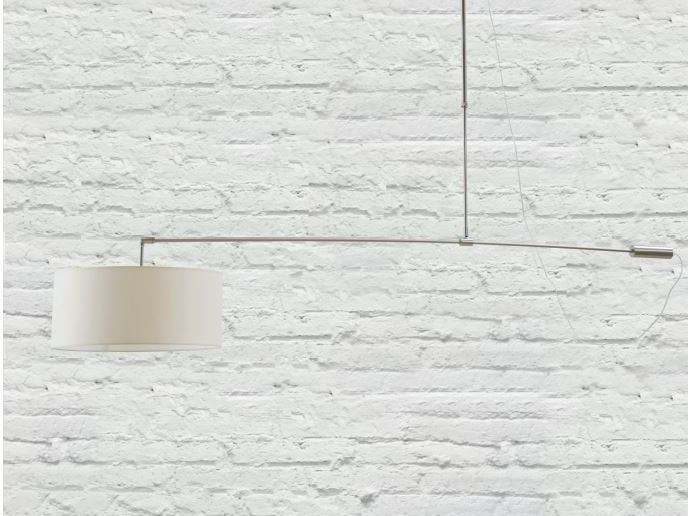 Fabric pendant lamp ARCO C by luxcambra