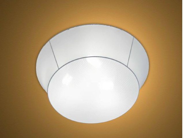Polyurethane ceiling light RONDO by luxcambra