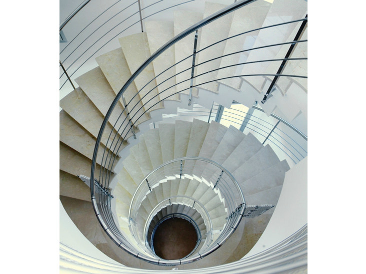 Natural stone staircase cladding SCALEA® | Staircase cladding by Cosentino