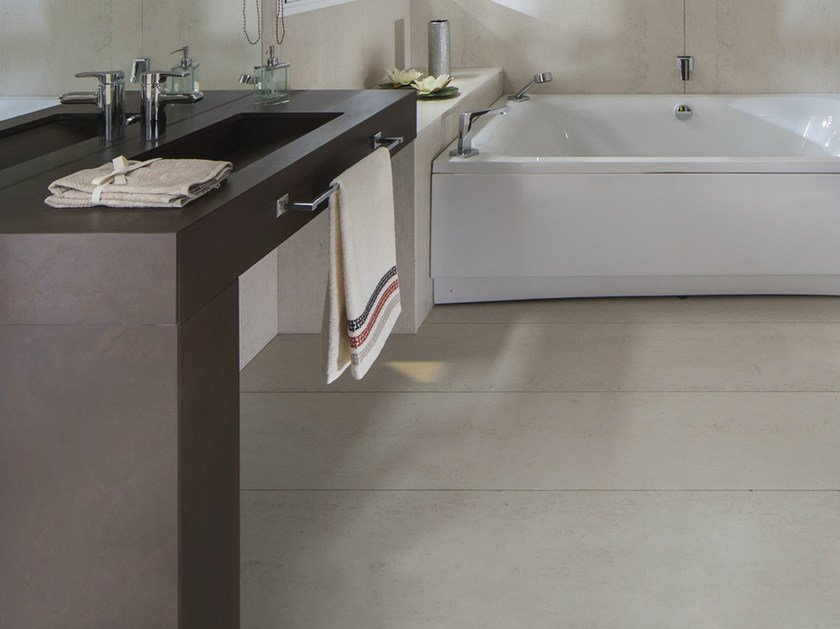 Dekton® washbasin with integrated countertop DEKTON® | Washbasin with integrated countertop by Cosentino