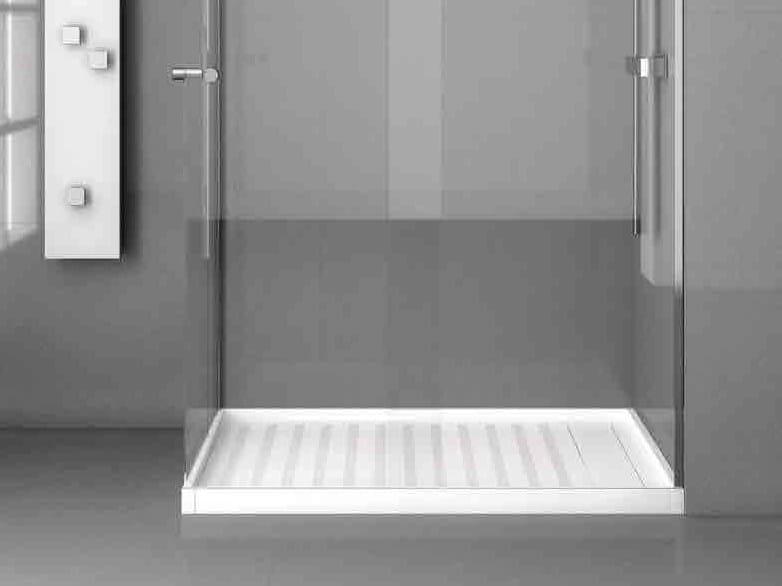 Rectangular Silestone® shower tray KADOR by Cosentino