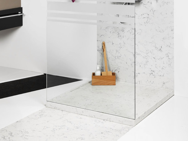 Silestone® shower tray DOPPIO by Cosentino