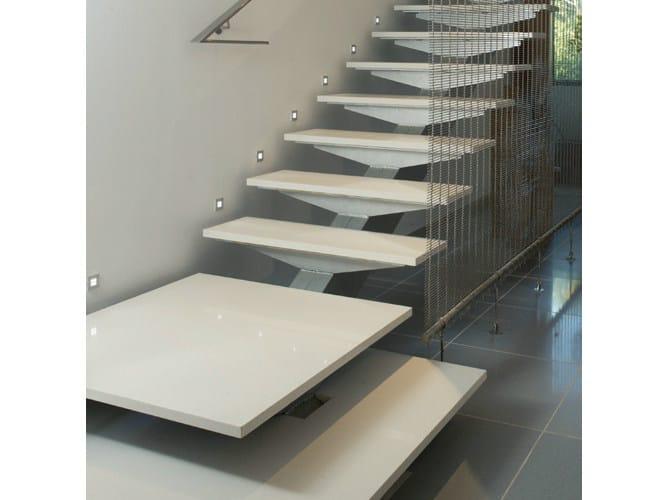 Silestone® staircase cladding SILESTONE® | Staircase cladding by Cosentino