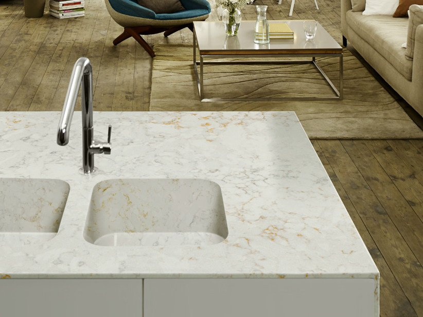 Undermount Silestone® Sink INTEGRITY DUE By Cosentino