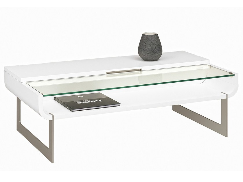 TV/dinner coffee table SETIS | Coffee table by GAUTIER FRANCE