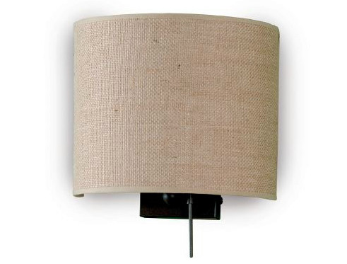 Fabric wall light VELA by luxcambra