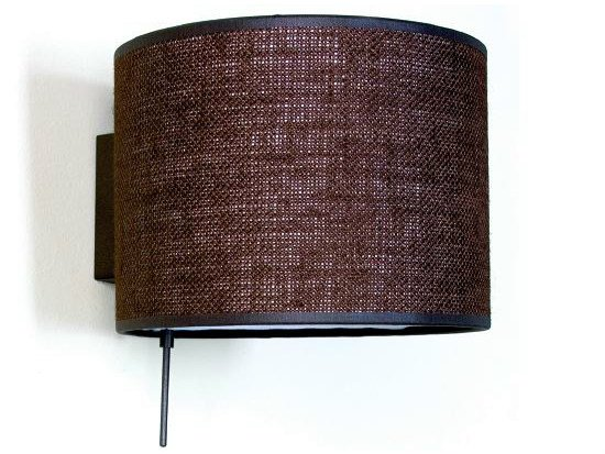 Fabric wall lamp ROOM by luxcambra