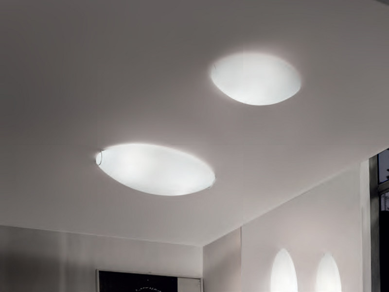 Blown glass ceiling light DODO PL by Vetreria Vistosi