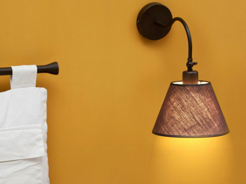 Fabric wall lamp RUSTIC 1 by luxcambra