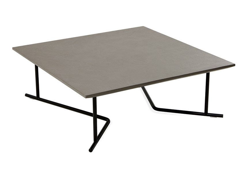 Square HPL garden side table COLORADO | Square coffee table by Varaschin