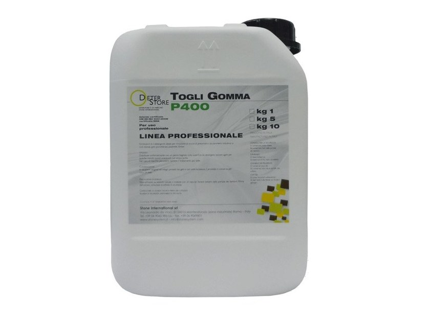 Surface cleaning product P400 TOGLI GOMMA by Stone International