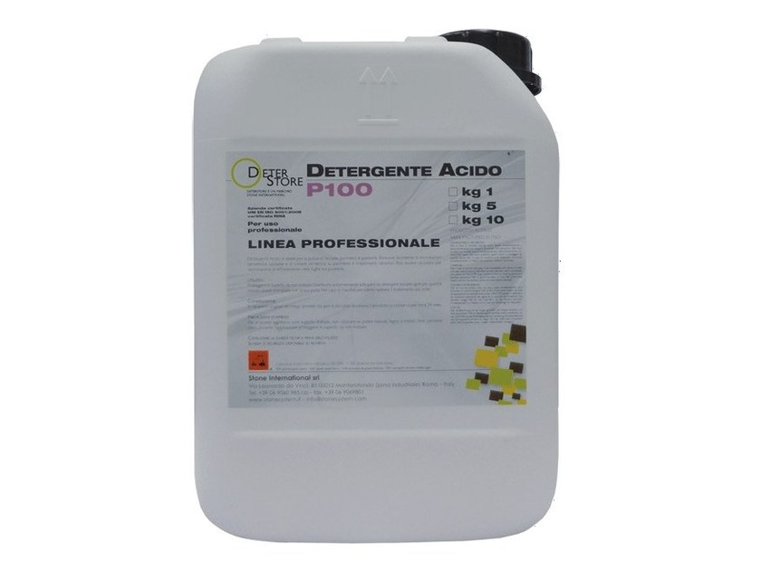 Surface cleaning product P100 Acid detergent by Stone International