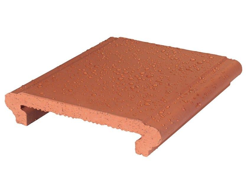 Water-repellent indoor/outdoor quarry floor tiles KWIKDRY by COTTO FURNO'