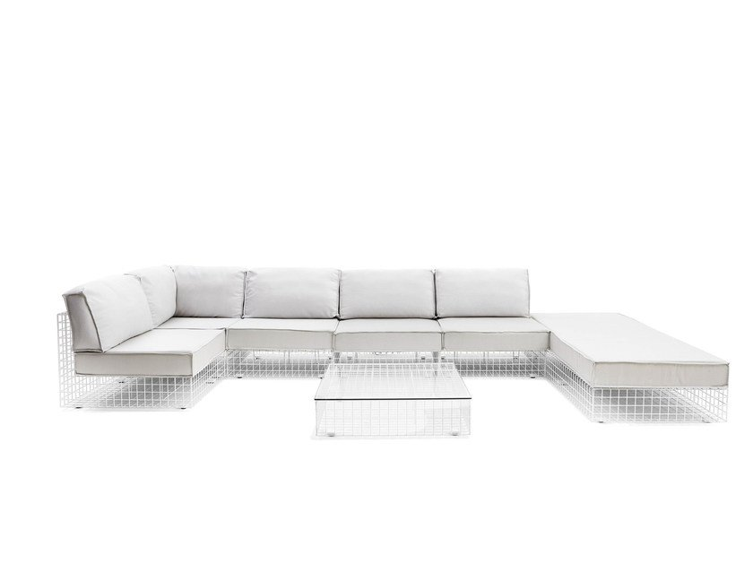 Sectional sofa GRID   Sectional sofa by Varaschin