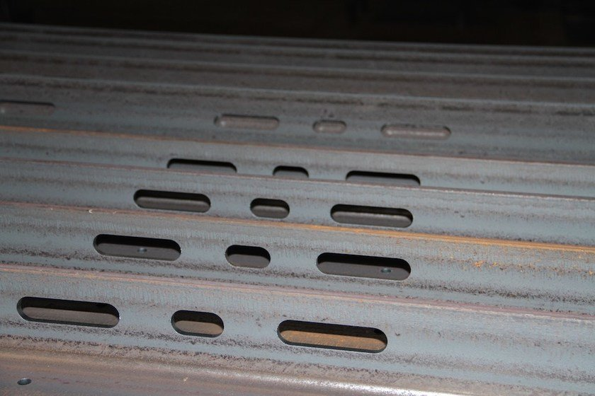 Metal joint for tubular structure Taglio laser profili in acciaio by CMM