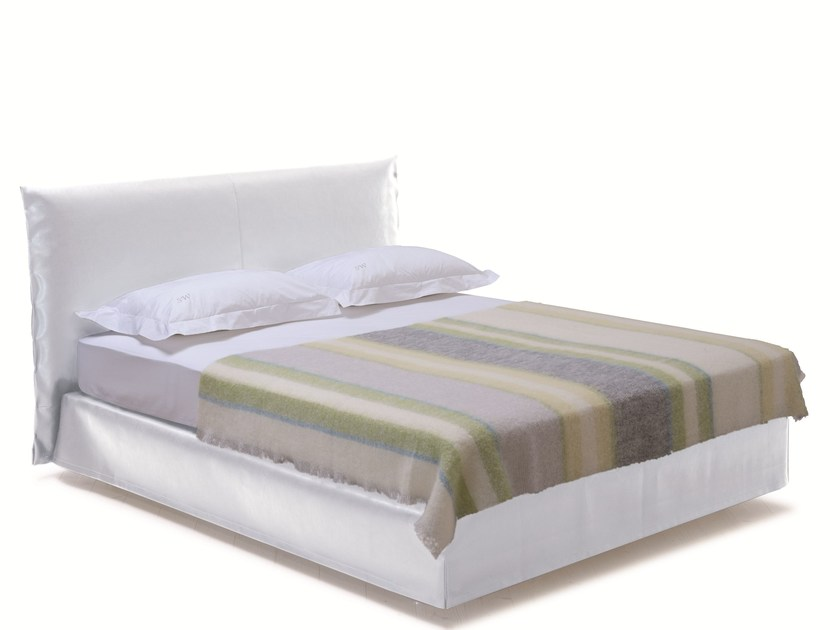 Double bed with removable cover SAVOY 21 + LOFT - H by Schramm Werkstätten