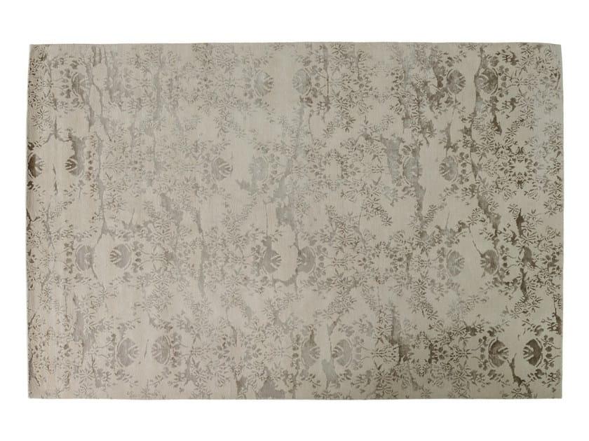Patterned rectangular rug VERSAILLES by Toulemonde Bochart