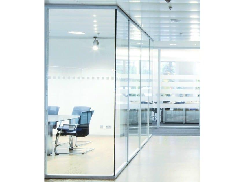 Parete mobile scorrevole in vetro per ufficio h40 by k nig neurath - Parete mobile scorrevole ...