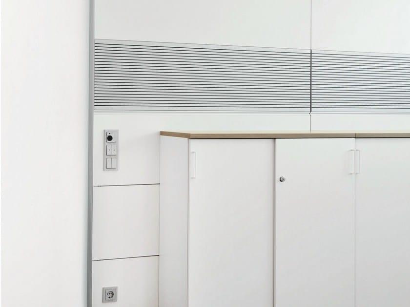 Acoustic office partition HRW by König Neurath