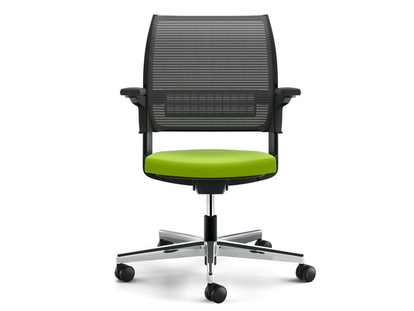 Task chair with 5-Spoke base with castors VALYOU by König Neurath