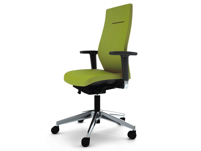 Task chair with 5-Spoke base with armrests JET II | Task chair with armrests by König Neurath